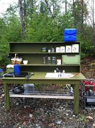 50 Cozy Outdoor Camping Kitchen Ideas For Comfortable Camping Outdoor Camping Kitchen Comfortable Camping Camp Kitchen