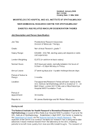 Resume Template For Medical Research Assistant Inspirationa