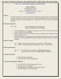 Resume For Education Jobs Best Of Free Resume Templates For Teachers To Download Best Cover Letter
