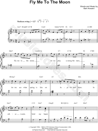 Print and download fly me to the moon sheet music by diana krall. Bart Howard Fly Me To The Moon Sheet Music Easy Piano In F Major Transposable Download Print Sku Mn0085790