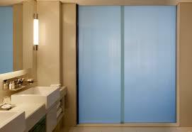 sliding door bathroom on sliding door bathroom off