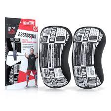 Rocktape Knee Sleeve Size Chart Rocktape Knee Sleeves Manifesto Assassins 7mm