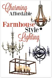 farmhouse style lighting. Do You Ever Feel Overwhelmed In Choosing Lighting For Your Home? Don\u0027t Miss Farmhouse Style E