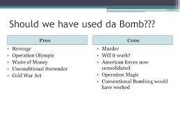 should the atomic bomb been dropped on essay introduction  should the atomic bomb been dropped on essay