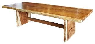 chic teak furniture.  chic suar slab dining table rusticdiningtables to chic teak furniture