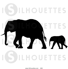 Image result for elephant silhouette