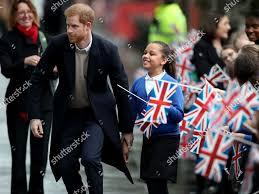 Prince Harry meets school pupil Sophia Richards Editorial Stock Photo -  Stock Image | Shutterstock