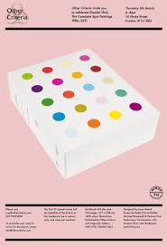 book launch damien hirst the complete spot paintings