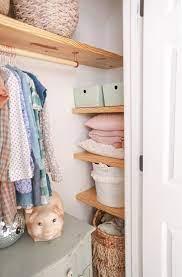 diy floating wood shelves clothing