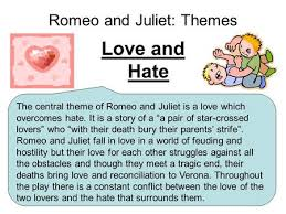 romeo and juliet themes ppt  romeo and juliet themes