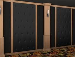 home theater acoustic wall panels. soundright tuck \u0026 roll panel home theater acoustic wall panels