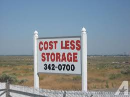cost less self storage specials ph 342 0700