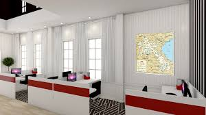 Office In Living Room Home Office Living Room Freelancers 3d