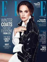 fug the cover natalie portman on elle uk make up international magazine issue