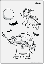 Free Nick Jr Coloring Pages Printable Download And Print For Free