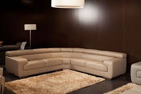 l shape furniture. L Shape Sofa With Sectional Style Perfect Shite Leather Material Furniture