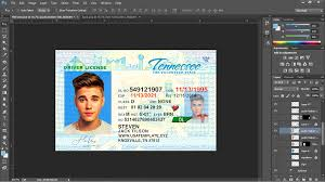asia - License Template Tenessee au tn Uk ca eu Driver Psd Usa