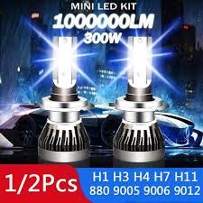 2020 New <b>C6 CAR LED</b> BULB H7 LED H4 H11 CAR LED H1 H3 ...