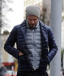 David Beckham wearing a Moncler Nylon Down-quilted jacket. | Daily ... & David Beckham wearing a Moncler Nylon Down-quilted jacket. Adamdwight.com