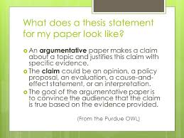 thesis statements what does a thesis statement for my paper look  what does a thesis statement for my paper look like