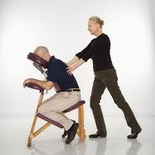 massage chair massage. chair massage