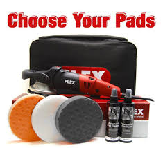 flex xc3401 vrg orbital polisher kit with free flex polisher bag flex dual action polisher and storage bag flex bag kit