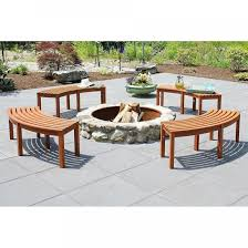 outdoor curved outdoor bench cushions wooden garden bench seat