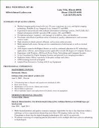 35 Stupendous X Ray Tech Resume You Must Consider