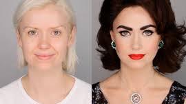elizabeth taylor inspired makeup tutorial facepaintbook