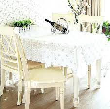clear plastic tablecloth rectangle quality dining table cover coffee end cloth round square rectangular tablecloths