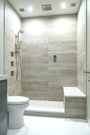 wood tile shower porcelain floor