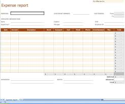 Expense Report Forms Free Expense Report Spreadsheet Template Free Templates