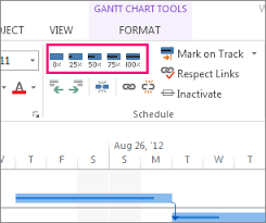 Track Progress In Excel Track Percent Complete For Tasks Project