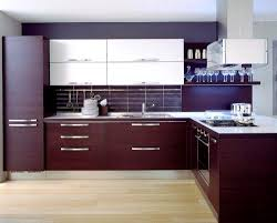 Open Kitchen Cupboard Cabinets Storages Contemporary L Shape Cherry Kitchen Cabinet