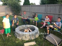 Fire Pit Swing Gazebo  Can You Believe My Husband And I Built Can I Build A Fire Pit In My Backyard