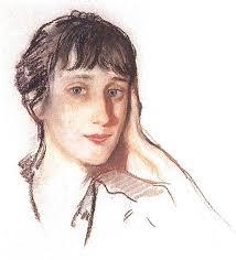 Анны Ахматовой Картина Серебряковой Портрет Анны Ахматовой