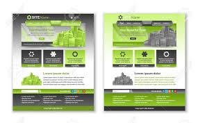 Green Layouts Easy Customizable Green And Dark Grey Website Template Layouts
