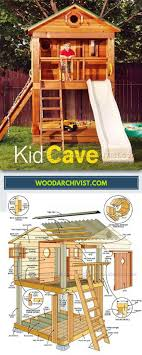 diy playhouse plans fresh backyard playhouse plans children s outdoor plans and projects
