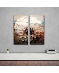ready2hangart daisy oversized canvas wall art set of 2 oversized  on 2 pc canvas wall art with find the best deals on ready2hangart daisy oversized canvas wall