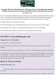 The Notes Bibliography Style Or Bibliography Style For Short