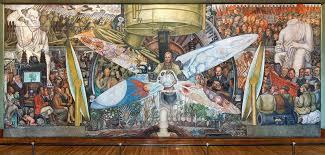 diego rivera murals rockefeller. Wonderful Murals Destroyed By Rockefellers Mural Trespassed On Political Vision Diego Rivera Murals Rockefeller NPR