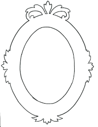 picture frame template printable images of oval free templates vector 4x6