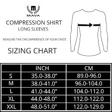 Nike Compression Shirt Size Chart Nike Youth Compression Shirt Size Chart Rldm