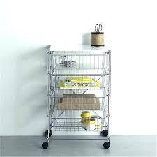 storage cart on wheels storage carts on wheels 4 drawer rolling cart 4 drawer chrome rolling storage cart on wheels