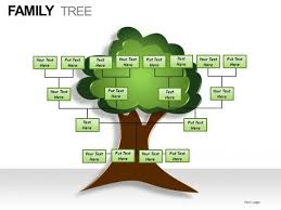 tree in powerpoint family tree powerpoint presentation slides