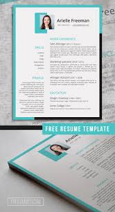 Colors And Shapes Cv Resume Design Resume Template Free
