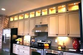 over cabinet kitchen lighting. Brilliant Kitchen Lighting Above Kitchen Cabinets Led Over Cabinet Using Soft Yellow Lights  Under Uk Intended O