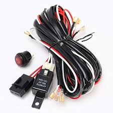 amazon com 270cm wiring harness on off switch 40a 300w relay amazon com 270cm wiring harness on off switch 40a 300w relay fuse for off road led light bar everything else