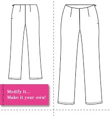 Design Own Pants Design And Make Your Own Patterns Introducing The Basic Pant Sloper