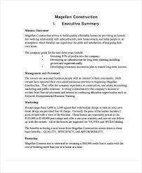 building construction business proposal